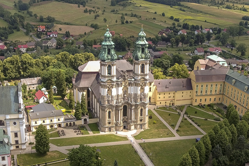 Post-cistercian monastic complex